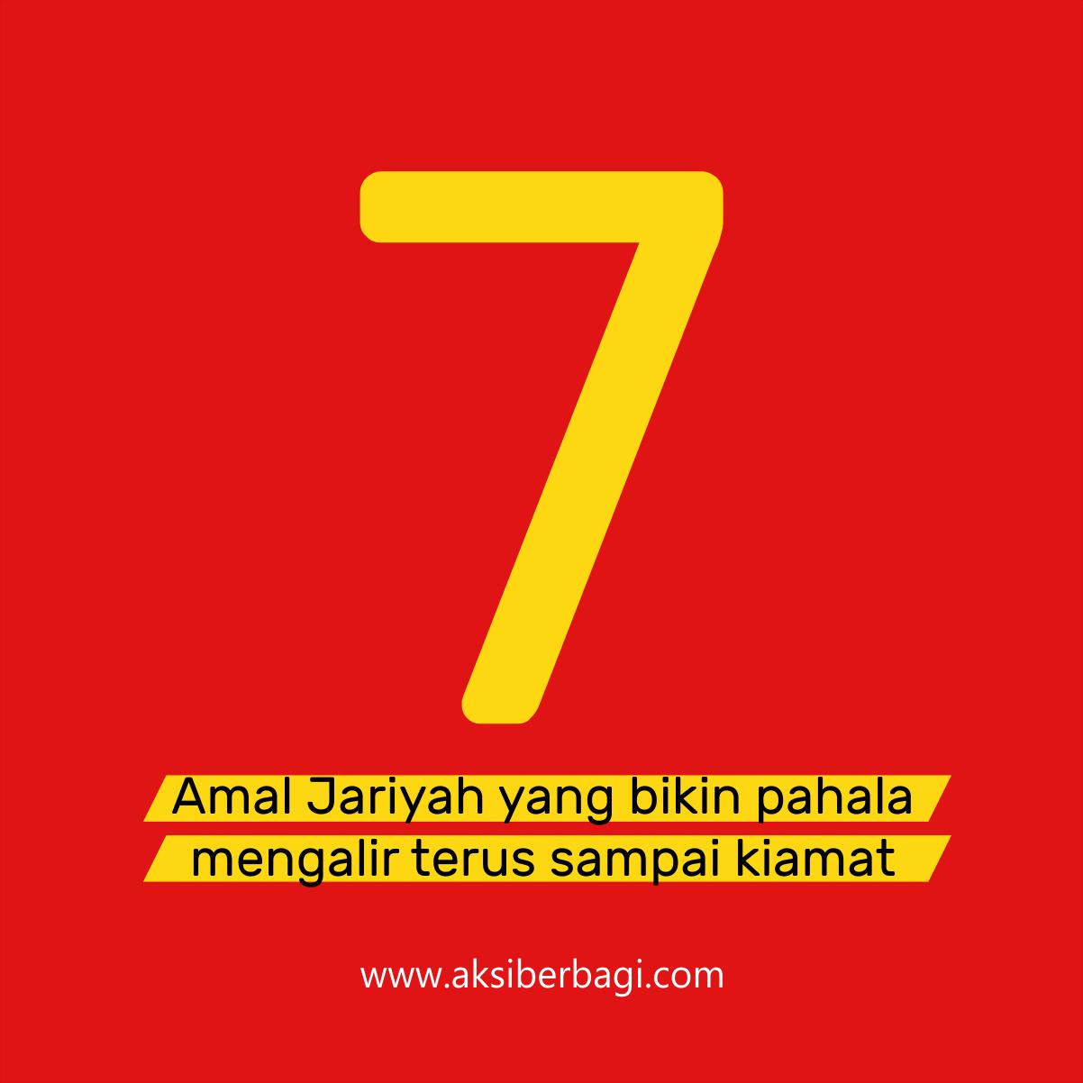 7 Amal Jariyah yang Bikin Pahala Terus Mengalir Sampai Kiamat