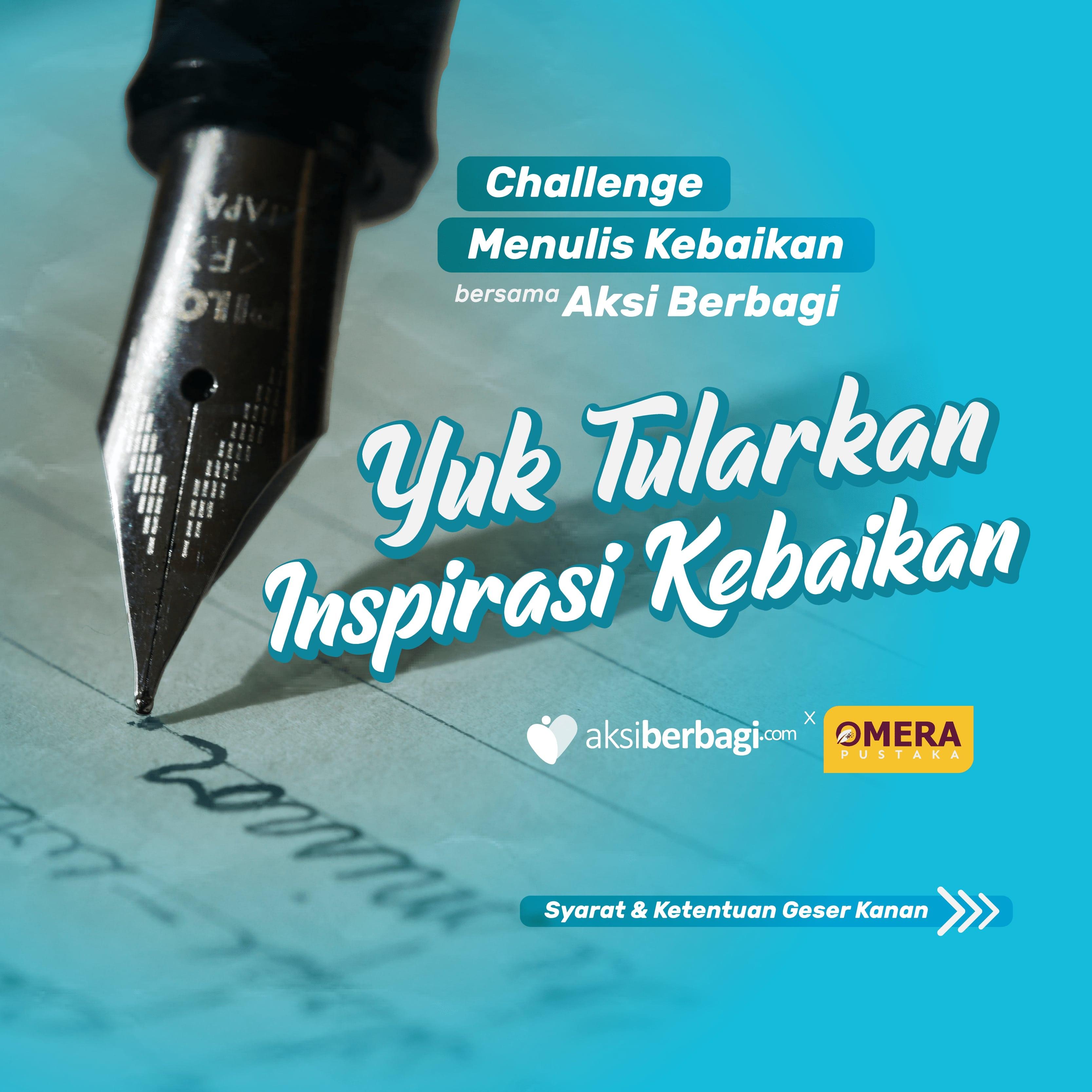 Challenge Menulis Kebaikan