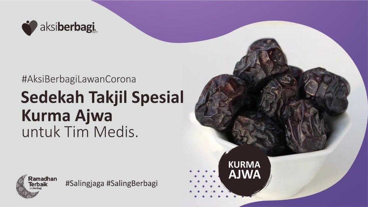 Berbagi Paket  Sahur dan Buka Puasa + Kurma Ajwa untuk Tim Medis