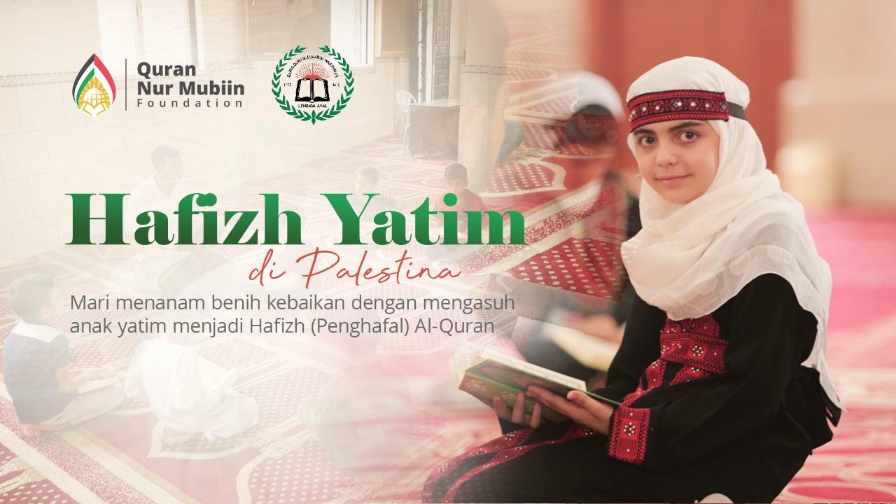 Donasi Tahfidz Yatim Penghafal Al Qur'an di Palestina