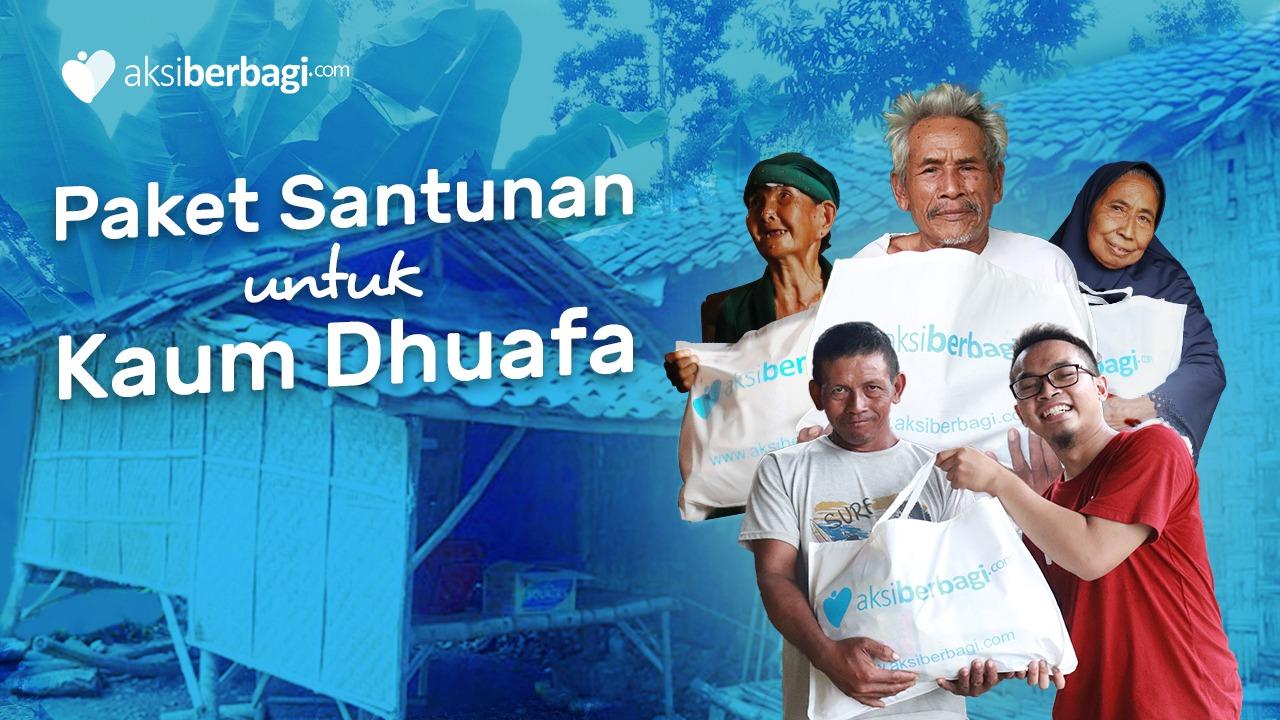 Paket Santunan untuk Kaum Dhuafa